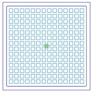 Square Grid Platen Design